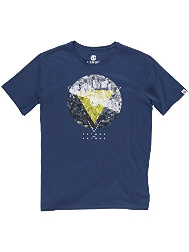 Element Central T-Shirt Midnight Blue
