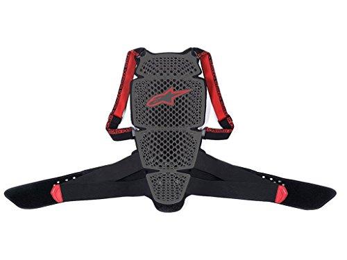 Alpinestars KR-Cell Motorrad-Rückenprotektor (L), grau schwarz rot