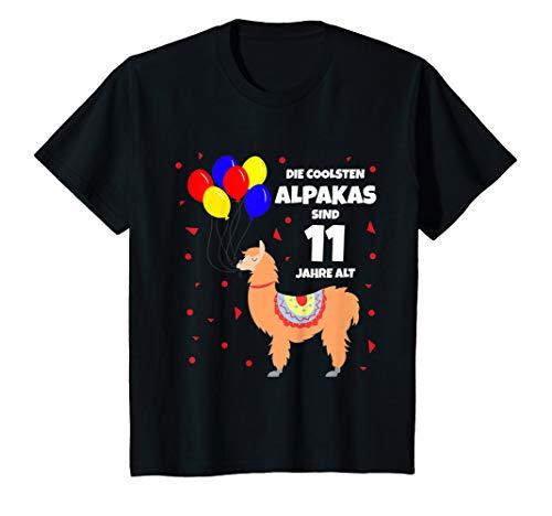 Alt Jahre Kostüm Elf - Kinder Die coolsten Alpakas sind 11 Jahre alt - Kostüm