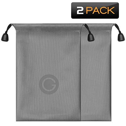 geekria® Bluetooth Headsets Tragetasche/Universal In-Ear Schutz Tasche/Tragbare Reisetasche (klein)