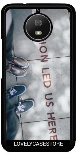 Funda Carcasa Cover para Lenovo Moto G5S Plus - Pasión Dirección Amor...