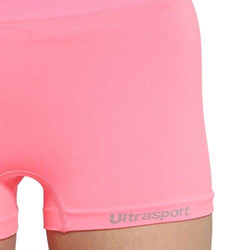 Ultrasport culotte de sport pour femme, Hot Pants Rose