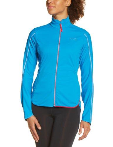 GORE BIKE WEAR Damen Jacke Countdown Soft Shell Light splash blue/waterfall blue