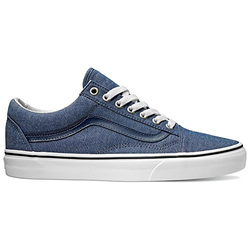 Vans U Old Skool, Chaussures de Sport Mixte Adulte Chambray/Blue