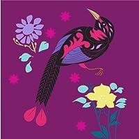 8 Greeting Card Cancelleria Notecards - Birds of Paradise - 8 notelets mescolato con Buste - Blank - Ideale per il compleanno, Thank You Cards, Inviti e il tuo messaggio - Messaggio Cancelleria