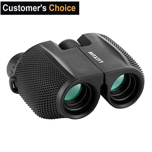 10x25 Vergrößerung Mini Binocular,SGODDE Fernglas Kompakt Wasserdicht Faltbar Nachtsicht bei Schwachem Licht für Erwachsene Kinder Vogelbeobachtung Gestochen Scharfe HD Weitsicht