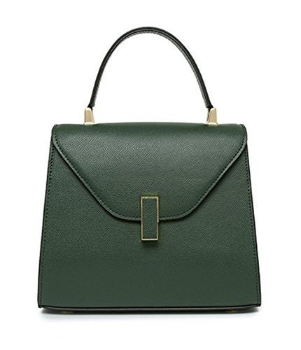Xinmaoyuan Borse donna Stile maniglia Borsetta donna borsetta borsa di bloccaggio Verde
