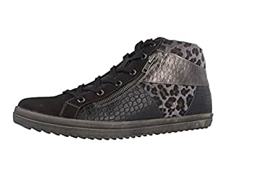 Remonte  R6679 02, Sneakers Basses femme - noir - Schwarz, 45 EU