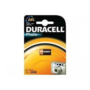 Duracell 2CR11108 Lithium Batterie (V28PXL) 2CR-1/3N, 28L PX28L L544, 6V