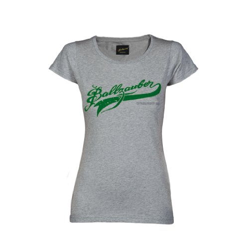 Ballzauber Damen T-shirt 2 grau melange