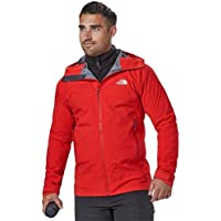 The North Face M Point Five Chaqueta, Hombre, Rojo Intenso, S