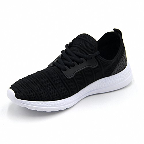 Mens Womens Summer Outdoor Sports Running Shoes Fashion Mesh Sneakers Black 36-47