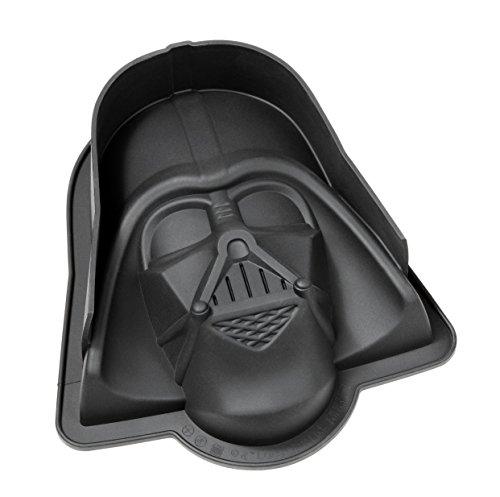 STAR WARS 20566 Darth Vader Silikon Backform, schwarz, 23  x  20  x  6,7 cm