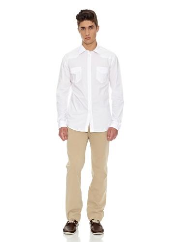 Carrera Jeans - Hemd 240A1290A für mann, popeline-gewebe, slim fit, langarm 002 - Weiß
