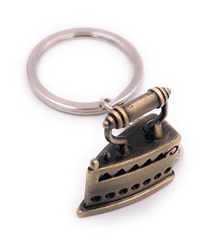H-Customs Bügeleisen Schlüsselanhänger Schlüsselanhänger Anhänger