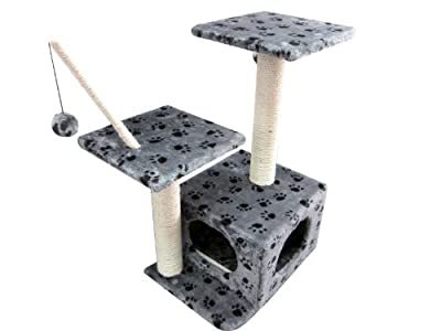 Cat Kitten Activity Centre and Scratching Post