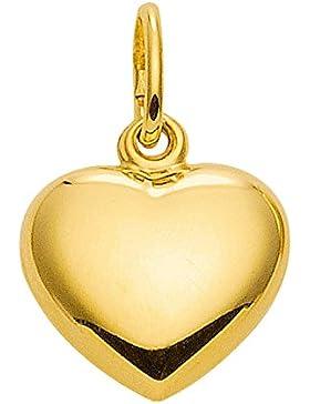 Herz Anhänger, Kettenanhänger aus 333 Gold 8 Karat