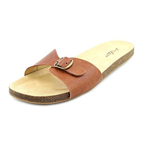 lucky-brand-dolliee-talon-abierto-de-cuero-mujer-color-marron-talla-41