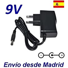 Cargador Corriente 9V Reemplazo Bicicleta Techness SE 800 MP3 Recambio Replacement
