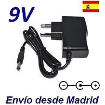 Cargador Corriente 9V Reemplazo Bicicleta Techness SE 800 MP3 Recambio Replacement