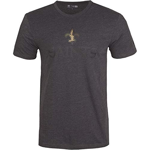 New Era Camo Shirt - NFL New Orleans Saints Charcoal - M