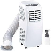 Sichler Monoblock Klimagerät: Mobile Monoblock-Klimaanlage mit Entfeuchter, 9.000 BTU/h, 2.630 Watt (Mobiles Klimagerät)