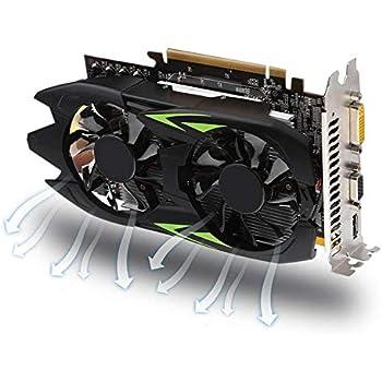 Mhomrs GTX1050TI - Tarjeta gráfica (4 GB, DDR5, 128 bit, PCI ...