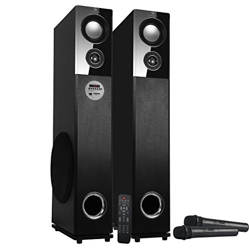 Zebronics ZEB-BT9500RUCF Tower Speaker with Bluetooth Connectivity,USB Connectivty and AUX Connectivity