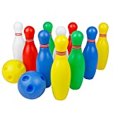 12 Pcs Skittles Bowling Set Toy Outdoor Indoor - Best Reviews Guide