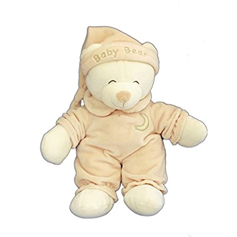 Doudou peluche OURS beige GIPSY Baby Bear H 28 cm Collections Peluches