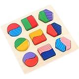 ألعاب تعليمية للأطفال أحجية تركيب الصور الهندسية ثلاثية الأبعاد بأشكال هندسية ثلاثية الأبعاد