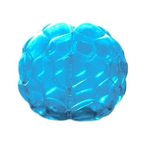 Tree-on-Life Aufblasbare Körper Stoßbälle Blase Fußball Anzüge viel umweltfreundliche PVC lustige Körper Zorb Ball kompatibel für Kinder 24 Zoll (Zoll Ball 24 Beach)