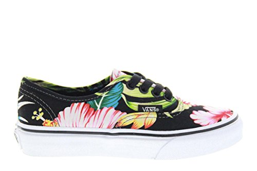 Vans Classic Authentic Hawaiian Floral Kids Trainers Size Kids 12 UK -