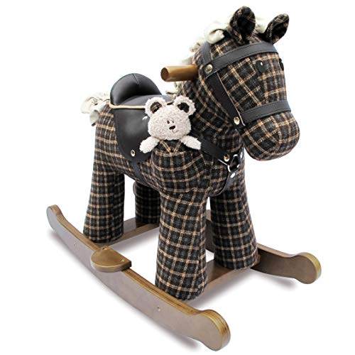 Little Bird Told Me LB3018 Rufus & Ted Wood Rocking Horse