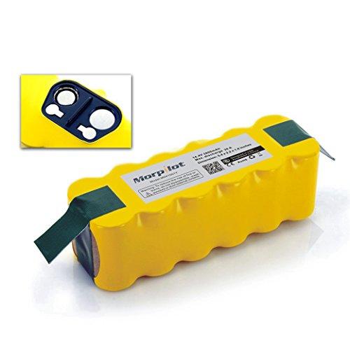 Morpilot 3800mAh Batterie de rechange Ni-MH pour Aspirateur iRobot Roomba 500 510 530 531 532 533 535 536 540 545 550 552 560 562 570 580 581 585 595 600 620 630 650 660 700 760 770 780 790 800 870 880 R3 80501 4419696 et Scooba 450