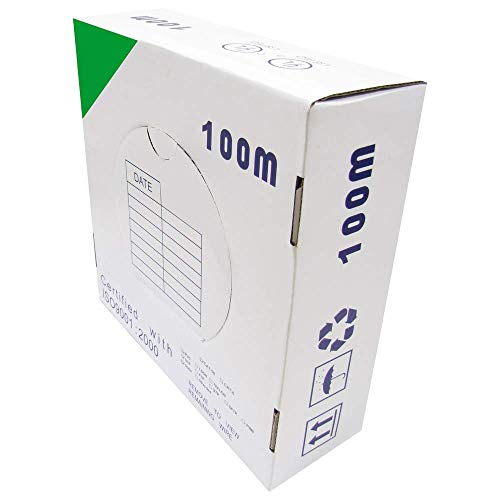 Cablematic Spool UTP Cat6 Kabel 24AWG CCA Solide Green (100m) -