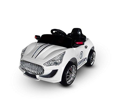 MWS LT 867 Coche eléctrico para niños Auto Sport monoplaza 6V con...