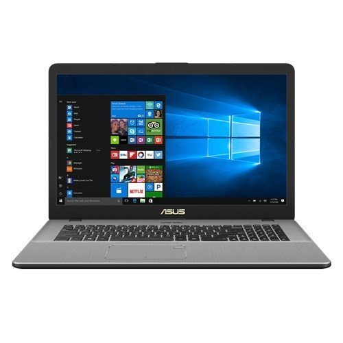 "Asus VivoBook N705UD-GC078T Notebook, Display da 17.3"", Processore I7-8550U, 1.8 GHz, SSD da 128 GB e HDD da 1000 GB, 16 GB di RAM, nVidia GeForce GTX 1050, Dark Metal Grey [Layout Italiano]"
