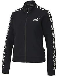 PUMA Amplified Track Jacket TR Chaqueta De Entrenamiento, Mujer, Black, M