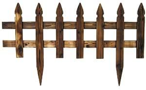 Steccato Pannello aiuola per recinzione giardino in legno