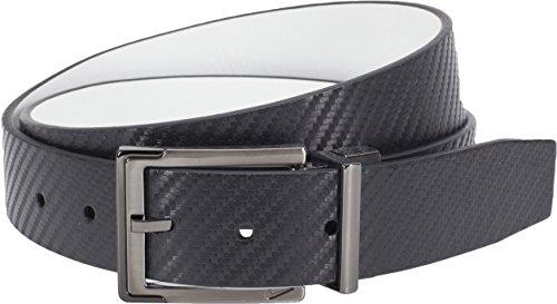 Nike Golf Herren Karbonfaser textu wendbar Gr. 100, schwarz / weiß