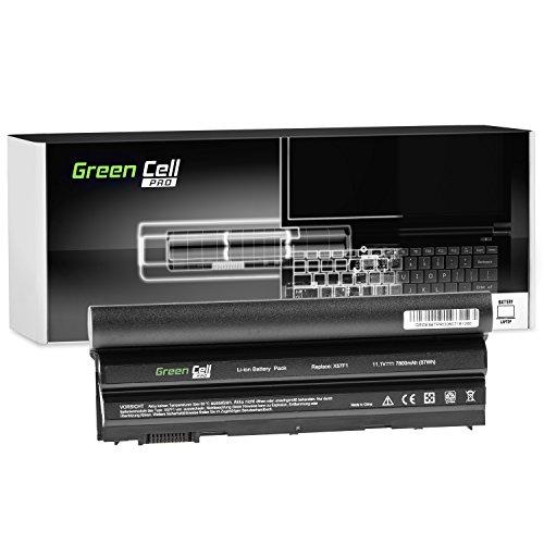 Green Cell Pro Extended 8858X M5Y0X T54FJ Serie Laptop Akku für Dell Latitude E5420 E5430 E5520 E5530 E6420 E6430 E6440 E6520 E6530 E6540 (Original Samsung SDI Zellen, 9 Zellen, 7800mAh, Schwarz)