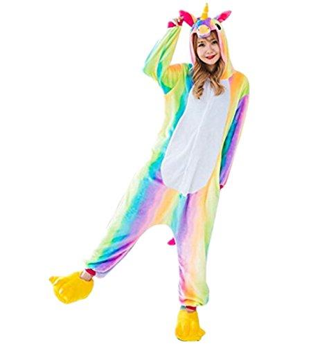Prettycos-Infantil-Unicornio-Pijama-Ropa-de-Dormir-Unisex-Disfraz-Unicornio-Cosplay-Animales-Pijamas-para-Ninos