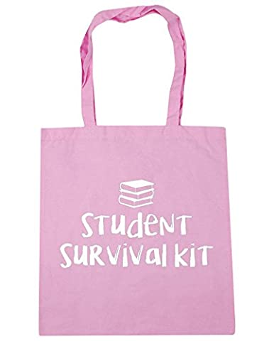 HippoWarehouse Student survival kit Tote Shopping Gym Beach Bag 42cm x38cm, 10 litres