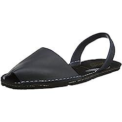 Zapatillas menorquinas - negro