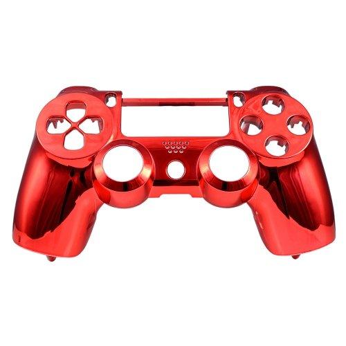 PS4 Oberschale für Dualshock 4 Controller - chrom rot (Playstation Modell-nummer 3)