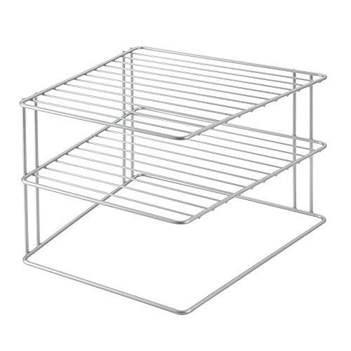 Metaltex PALIO - Rinconera de cocina con 3 estantes, gris