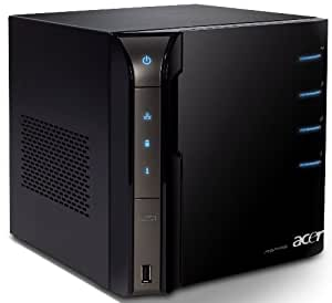 Acer Aspire easyStore H340 (Intel Atom N230 1.6GHz, 2GB RAM, 1500GB HDD, Intel 945GC,  XP Home Server)