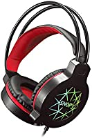 Snopy Sn-Gx7 Crazy Siyah Usb Led'Li Mikrofonlu Oyuncu Kulaklığı
