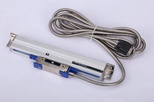 Escala de cristal lineal GOWE torno WTB10,001mm 600mm Digital Read Out torno accesorios 600mm